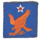 2nd Army Air Forces Patch 2nd Air Force